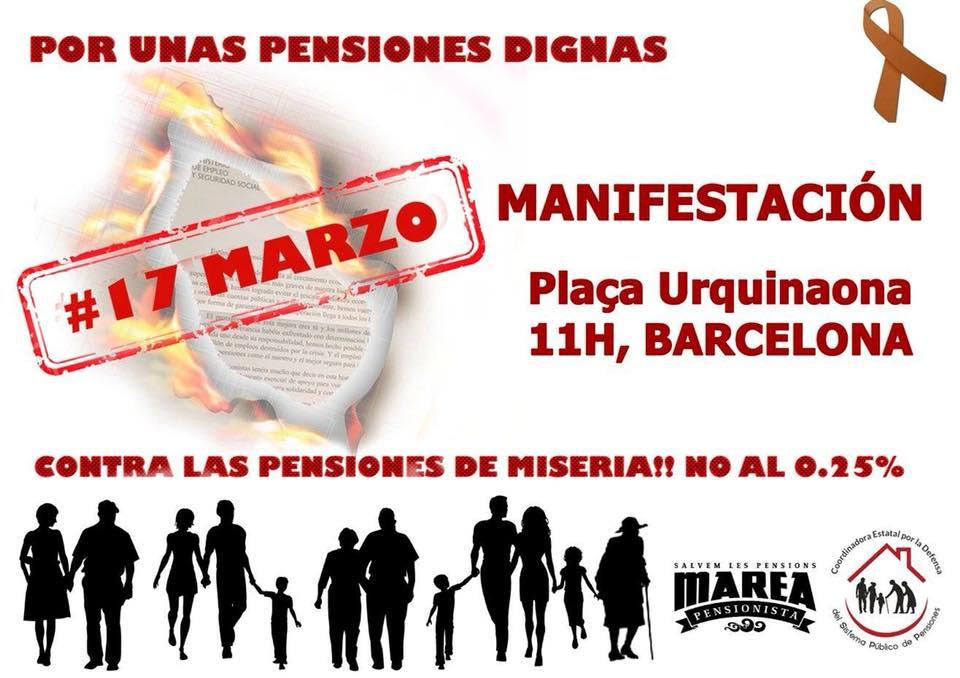Por unas pensiones dignas